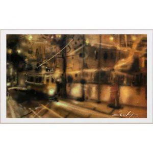 Um olhar na noite / A light glance in Lisbon